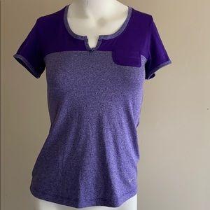 Nike Purple Dri-Fit Shirt